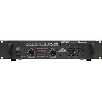 Amplificador Wattsom, Modelo W Power Ii 3300 Ab
