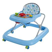 Andador Musical Toy Para Bebê Azul Tutti Baby