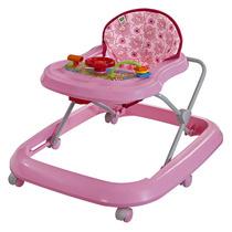 Andador Musical Toy Para Bebê Rosa Tutti Baby