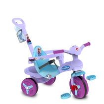 Carrinho Bebê Passeio Triciclo C/ Smart Drive Disney Frozen