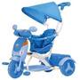 Triciclo Evolution Azul - Com Som - Frete Gratis - Cotiplas