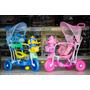 Triciclo Gangorra Infantil C/ Capota 3x1 Música/luzes