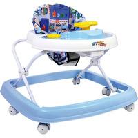 Andador Bebe 6 Rodas Regulavel Azul Styll Baby
