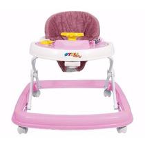 Andador Infantil Musical Styll Baby - Rosa