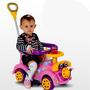 Carrinho De Passeio Ring Car Rosa Biemme Andador Bebê