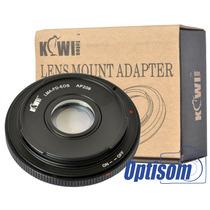 Anel Adaptador De Lente Canon Fd Para Câmera Canon Eos