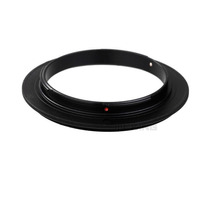 Anel Inversor Lente Macrofotografia Cameras Canon Eos 52mm