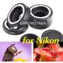 Tubo Extensor Eletrônico Macro Af Nikon Af Af-s Dx Fx Cd858