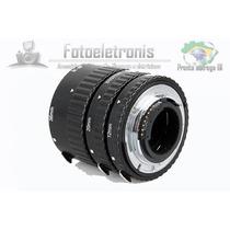 Tubo Extensor P/ Canon Af Controle Abertura Baioneta Metal
