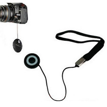 Cordão Anti-perda Tampa De Lentes Para Nikon Canon Sony Fuji