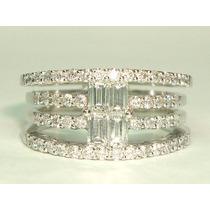 Pocao2005-anel Ouro14k Super Pave Diamantes Frete Gratis