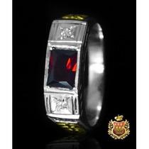 Anel De Formatura Em Prata Com Emblemas Em Ouro Af011