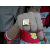 Anel Nossa Senhora Aparecida Folheado A Ouro