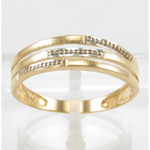 Esfinge Jóias - Anel Design Detalhado Aro22 Ouro 18k 750.