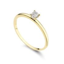 Anel Em Ouro 18k E Diamante 12 Pontos - Vivara