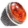 Hrk-anel Turquia Turco Prata 925 Zirconia Negra