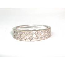 Pocao2005 - Anel-ouro Branco 18k Pave Diamantes Grife Vivara
