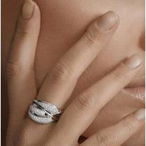 Anel Pavê Com 1 Quilate De Diamantes Em Ouro 18