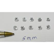 Dal Corsi - Frete Gratis = 10 Zirconias De 5mm Apenas 15,00