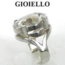 Anel Cristal Quartzo Natural Legitimo Oval Prata 925 P1129