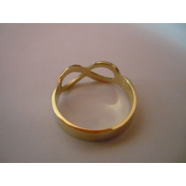 Anel Infinito 2 Grs 18k/750
