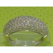 Ivi1388 = Anel Pavê Vivara 140 Diamantes Ouro 18k!!!