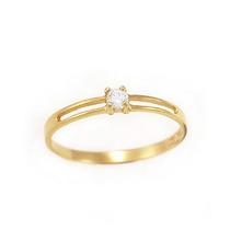 Super Promoção Anel Ouro Amarelo 18k/diamante,frete Grátis!