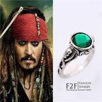 Anel Do Capitão Jack Sparrow - Piratas Do Caribe