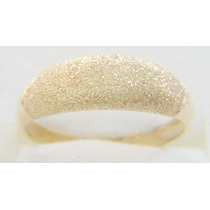 Swjoias Anel De Ouro Granitado 18k 750 1,8 Grm