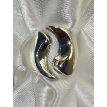 Elegante,lindo Anel Vintage Grego Unissex Prata-de-lei,déc70