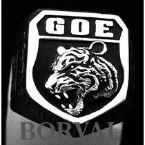 Anel Goe Polícia Civil Sp, Prata 925 Masculino.