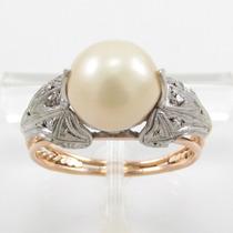 Esfinge Jóias - Anel Pérola E Diamantes Aro14 Ouro 18k 750.