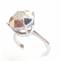 Vivara! Diamantes Em Lindo Anel Em Ouro 18k 750