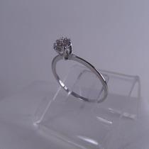 Anel Chuveirinho 18k 750 Diamantes 1,1g Frete Grátis