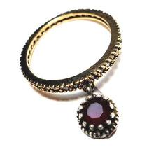 Jfq-anel Alianç Turquia Turco Prata 925 Cristal Rubi Zirconi