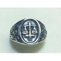 Anel Ordem Dos Advogados Em Prata 950