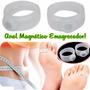 1 Par Anel De Silicone Magnético P/ Emagrecer E Insonia