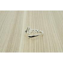 Anel Love Prata 925 (l) Lindo