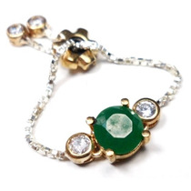 Jxu-anel Ajustavel Turquia Turco Prata 925 Jade Zirconias