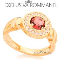 Rommanel Anel De Formatura Feminino Lilas E Zirconias 511754