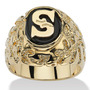 Onyx Masculina Initial R-size Ring-inicial 13