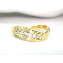 Pocao2005-anel Ouro18k 750 Diamantes Hstern Frete Gratis