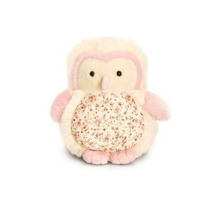 Coruja Toy Soft - Belle Rose 15cm Childrens Peluches Plush