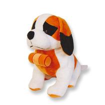 Cão São Bernando Gigante De Pelúcia 96 Cm Cachorro Pet Dog