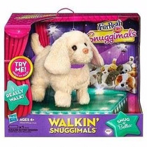Cachorrinho Pelúcia Furreal Walkin Snuggimals Hasbro