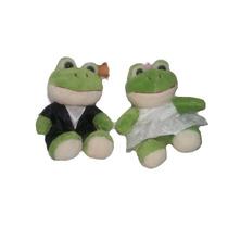 Sapo Noivos Casal Sapinho Casamento Terno Vestido Rsp
