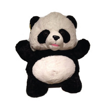 Urso Panda De Pelúcia 50 Cm Ursinho Original Fofy Toys Rsp