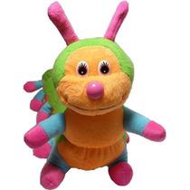 Centopéia Média Bicho Pelucia Presentes Brinquedo Decoração