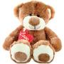 Pelucia Urso Paixao Antialergico 35cm P/ Presentear Com Amor