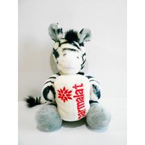 Bicho Pelúcia Zebra Coleção Mamíferos Parmalat #brechodacris
